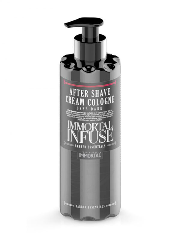 Immortal Infuse After Shave Cream Cologne Deep Dark 400ml