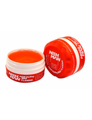 Cera Flaming - Hair Styling Cherry Red Wax 03 150ml